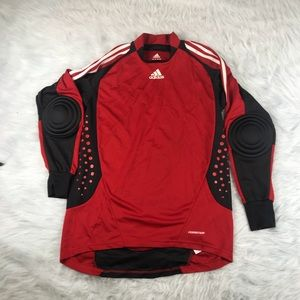 Men's Adidas Formotion Padded Soccer Shirt Size M